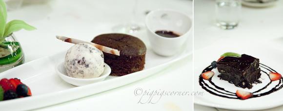 Prime, Le Meridien Hotel, KL - desserts