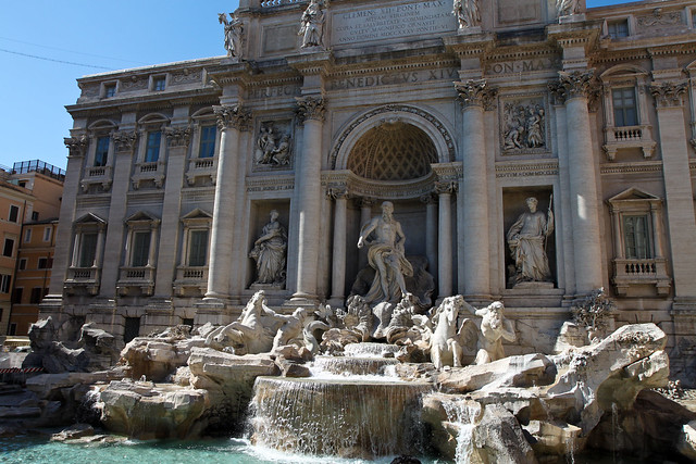 Rome. Trevi fountain