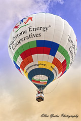 Hot Air Balloon Travel (Explored) (Ellen Yeates) Tags: morning travel sky hot lady sunrise austin fly energy texas cloudy air explorer balloon central explore association mansfield touchstone cooperative explored mygearandme ridedam