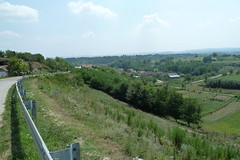 Road into Serbia