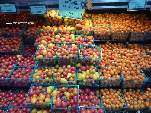 Tomatinhos Tomatitos orgânicos