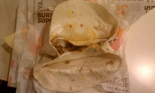 Taco in a burrito. Taco-ception?