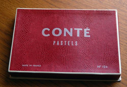 vintage conte crayons