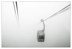 a dream within a dream (micagoto) Tags: weather fog clouds nebel nirvana wolken freiburg wetter vag seilbahn schauinsland schauinslandbahn d7000