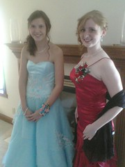 Prom 2011 (autumnleavesofgrass) Tags: me friend prom snowprincess