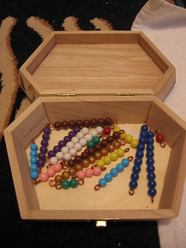 Montessori Bead Bars (Photo from A Thousand Joys)