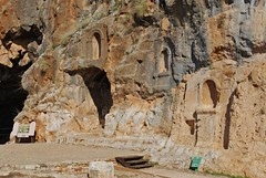 Shrines to Pan at Caesarea Philippi (Bill Rice)