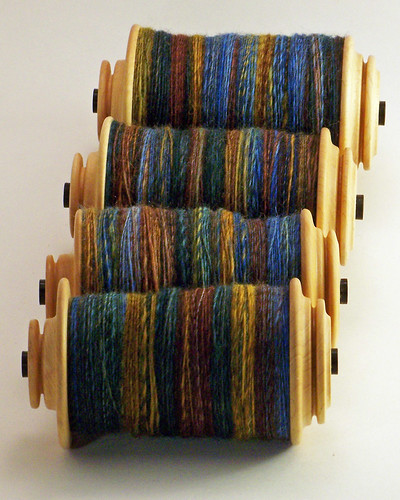 Two If By Hand - Mixed BFL - We Took To The Woods - 4 Bobbins