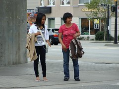 Filipinas (knightbefore_99) Tags: street girls station vancouver corner asian sweet candid beam filipina grandview skytrain commercialdrive eastvan pinoy thedrive
