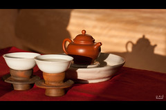 Tea Moment (lastcoyote) Tags: tea gongfu oolong teaware