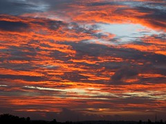 the rEd on canvaas (sudheer_pandey) Tags: sunset red sky india nature clouds canon bhopal ssl sx130 canonpowershotsx130