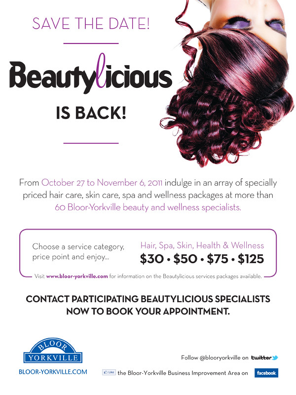 Beautylicious is back!