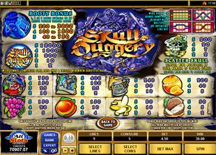 free Skull Duggery slot mini symbol