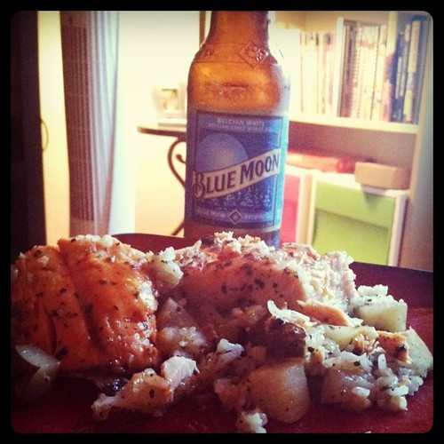 salmon and a blue moon = <3