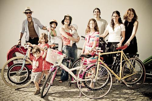 A comunidade de ciclistas urbanos - uma grande família!