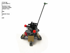 "MkII Armored Drone  ""Hunter"""