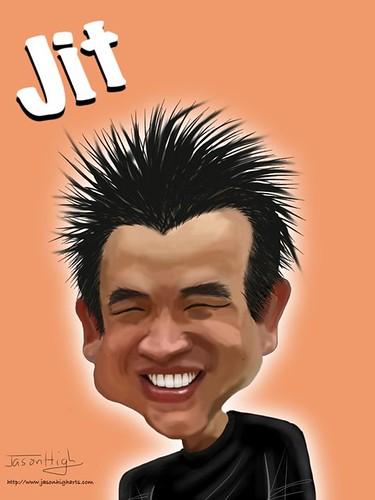 My caricature by Jason High on ArtStudio iPad