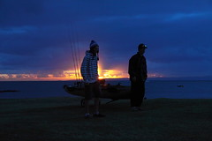 a new dawn (Fish Fidler) Tags: fishing kayak redcliffe bream abt hobie daiwa 2011