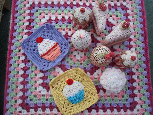 Two Squares for our 'Cupcake Challenge'.
