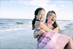 {Sisterly Love} (jordan_tgg) Tags: ocean new city girls light summer usa sun love beach girl smile june sisters america pose happy newjersey sand bright sister joy smiles teens posing happiness atlantic jersey oceancity joyful 2011 oceancitynewjersey