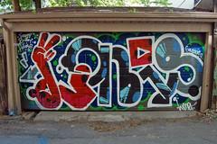 DSC_0812 v2 (collations) Tags: toronto ontario architecture graffiti documentary tags lone vernacular tagging loner laneways alleys lanes garages alleyways builtenvironment vernaculararchitecture urbanfabric graffitiwalls