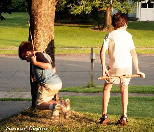boys swing