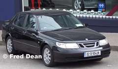 Saab 9-5 (02D55438). (Fred Dean Jnr) Tags: hd 20 95 saab lpt linear july2010