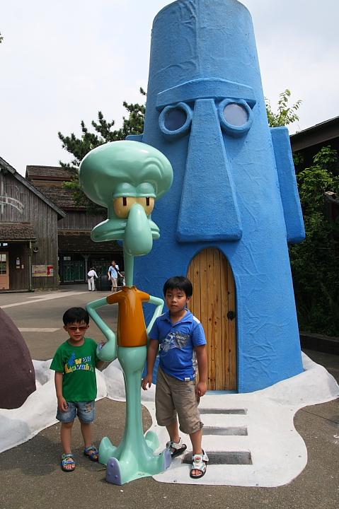 六福村主題遊樂園(美國大西部,海綿寶寶區)003