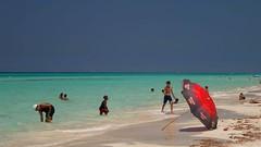 Shades of blue, Varadero beach, Cuba