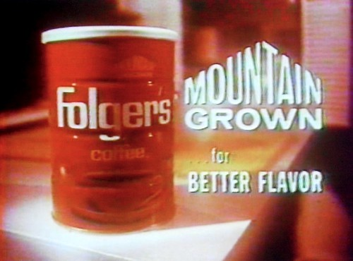 1960s Folgers Coffee Vintage Advertisement Commercial Still