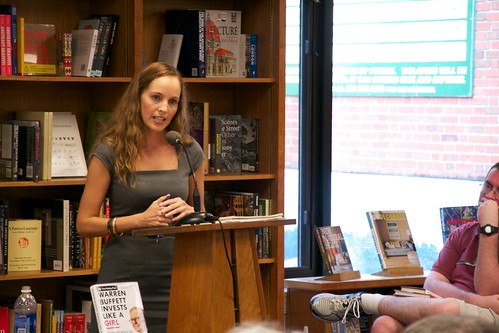 Politics and Prose Bookstore's buddy icon  Louann Lofton - Warren Buffett Invests Like A Girl - And Why You Should Too