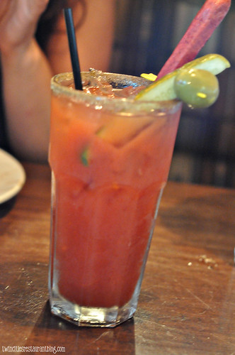 Bloody Mary at Patriot's Tavern ~ Stillwater, MN