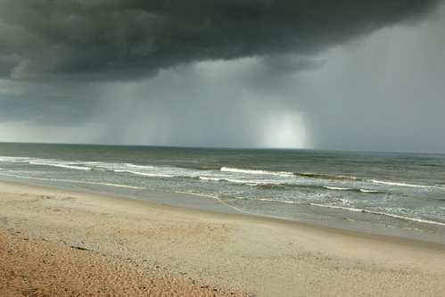 thunderstorm, Apollo Beach, Canaveral National Seashore, Volusia County, Florida 3