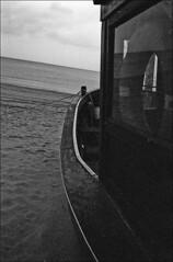 Baltic sea V (__Daniele__) Tags: leica sea film monochrome analog boat blackwhite fuji grain baltic 1600 summicron neopan schwarzweiss ostsee m6 usedom ahlbeck
