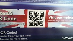 XH558 QR code, the snap this to donate isn't n...