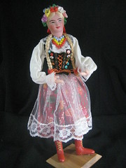 Cracow Polish Folk Costume Doll
