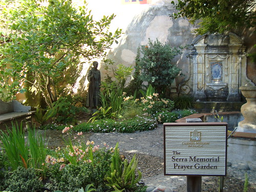 The Serra Mermorial Prayer Garden