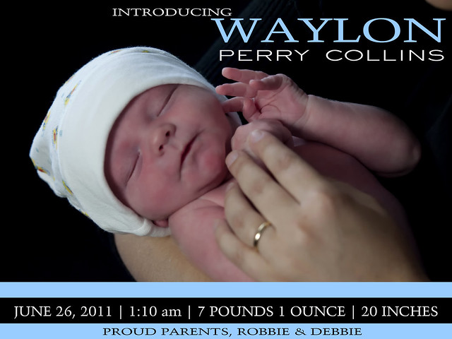 ANNOUNCEMENT 11-07-01 Baby Waylon-38a