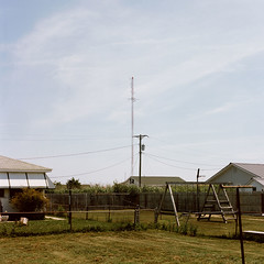 . (Johnny Utterback) Tags: 120 film mediumformat kodak towers portra hasselblad500cm 160nc tangierislandvirginia