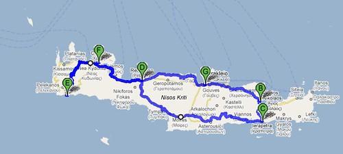 mapa dos