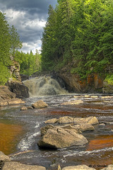SturgeonFalls01 (cheryl strahl) Tags: hiking michigan upperpeninsula baraga sturgeonriver wildern