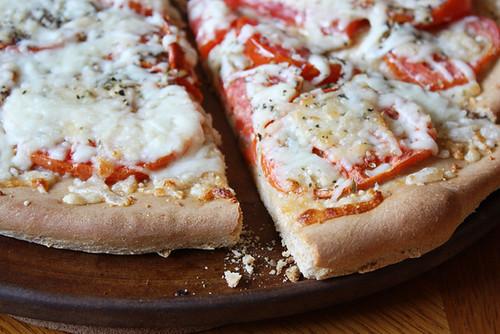 crusty crust.