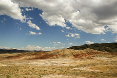 Painted Hills (danfay1009) Tags: travel sky oregon john fossil day beds central paintedhills platinumheartaward