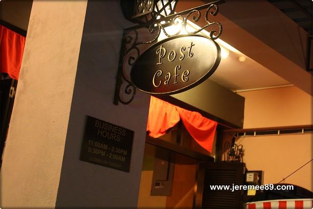 Post Cafe @ Carnarvon Street - Entrance