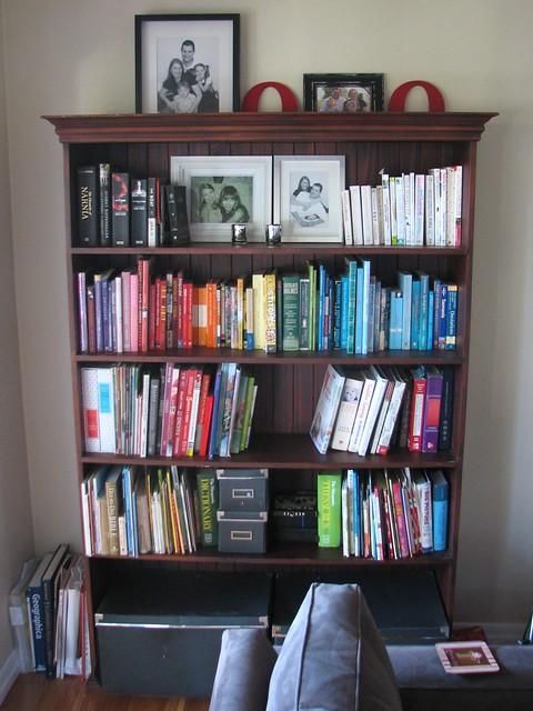 bookshelf, lounge room