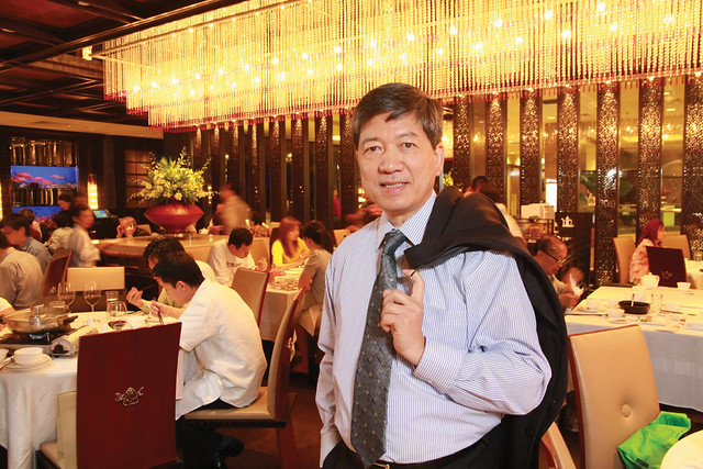Mr Ip Yiu Tung, Chairman and CEO of Crystal Jade Culinary Concepts Holding. Photo courtesy of Crystal Jade