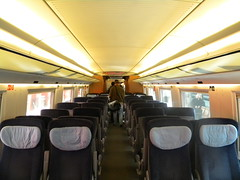 ICE-3 interior (Timon91) Tags: station amsterdam train ns frankfurt interior main railway zug db hbf trein spoor hispeed centraal ice3