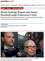 The Beginning of The End of Rupert Murdoch? - Rebekah Brooks resigns over phone-hacking scandal