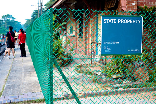 The Bukit Timah railway station is now state property