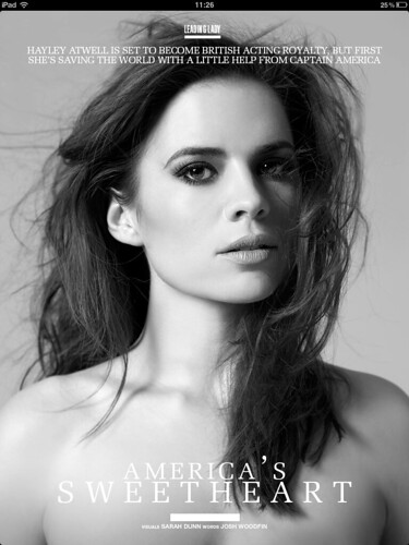 PROJECT Issue 8 Hayley Atwell